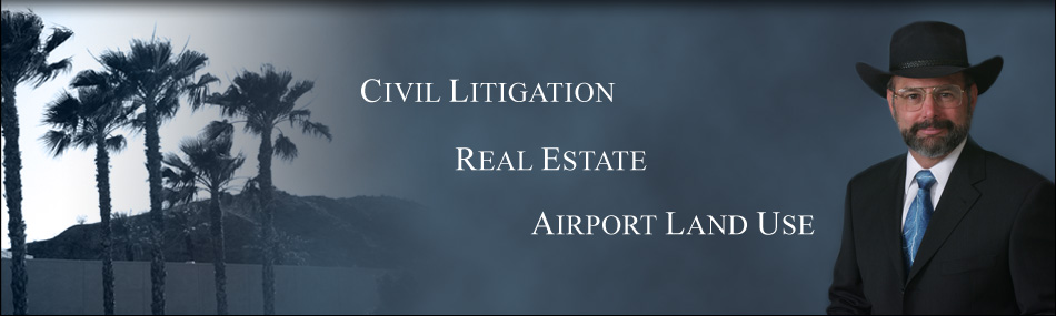 Civil Litigation, Airport Land Use, Simon A Housman